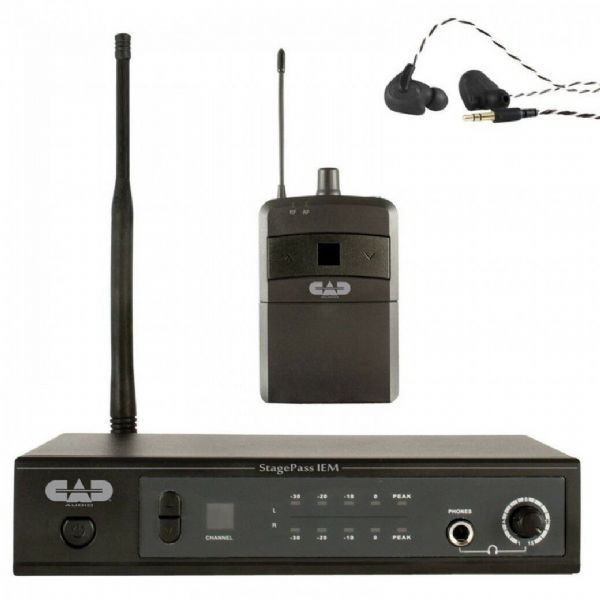 CAD Audio - IEM STEREO WIRELESS IN EAR MONITORING SYSTEM - STAGESELECT